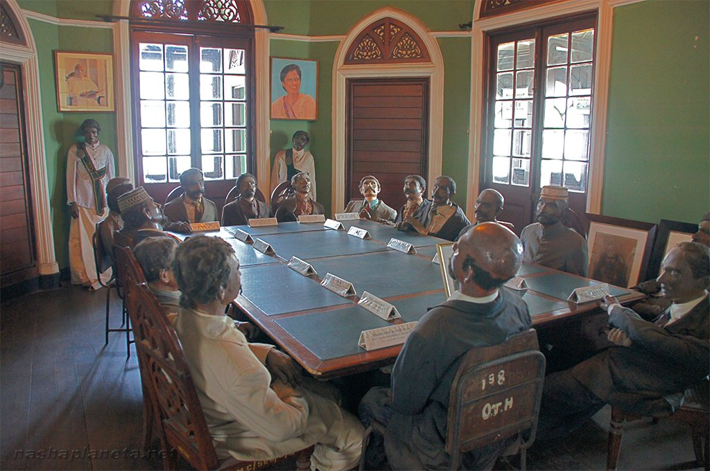 Meeting at Pettah Old Town Hall