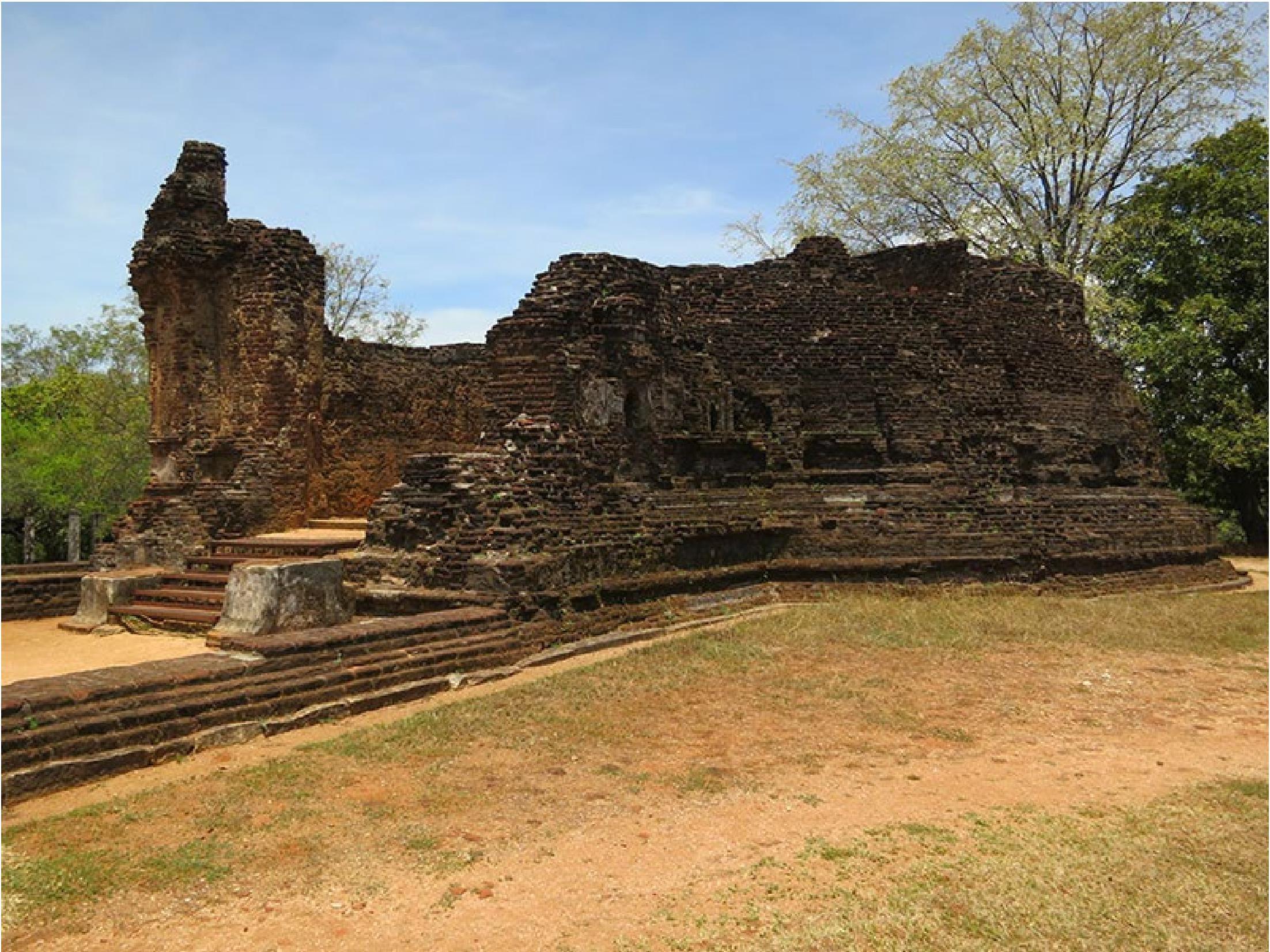 Potgul Vihara - Polonnaruwa